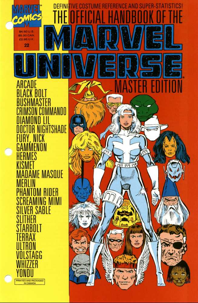 Official Marvel Handbook - Maste